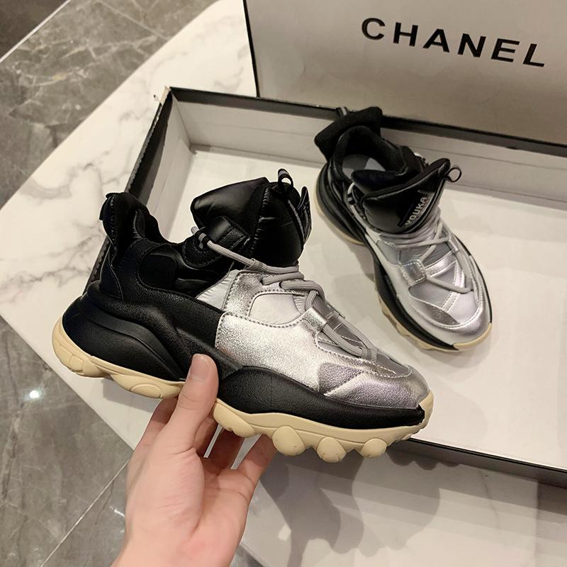 Minika/Модная удобная женская обувь хорошего качества; Повседневная парусиновая обувь на воздушной подушке из искусственной кожи для здоровья