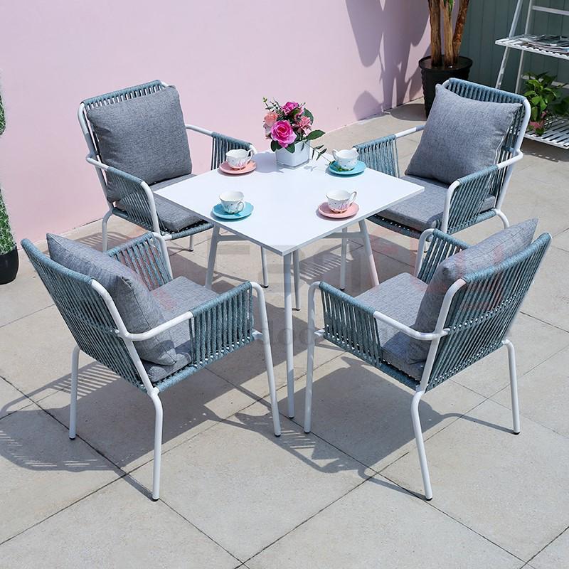 Обеденный набор Royal Hotel rope, мебель для патио, обеденный стол и стул для балкона