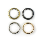 Meetee H2-1 26mm Alloy O Ring Buckle Customized Round O Shape Ring Luggage Bag Hardware for Handbag Strap Circle Buckles Fitting