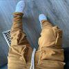 Khaki pant without Velcro