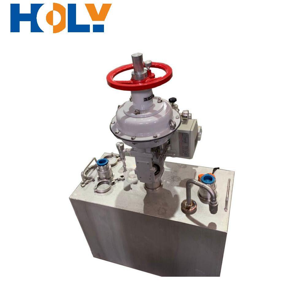 DN20 Vacuum Insulated Piping Vacuum Insulated Flow Regulating Valve for Aerospace