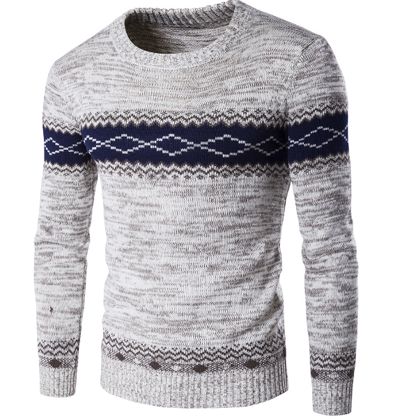 Sweater Men 2019 New Arrival Casual Pullover Men Spring Autumn Round neck Quality Knitted Brand Male Sweaters S-2XL