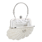 Clutch Bag Crystal Evening Women Pearl Clutch Bag Noble Crystal Beaded Evening Bag