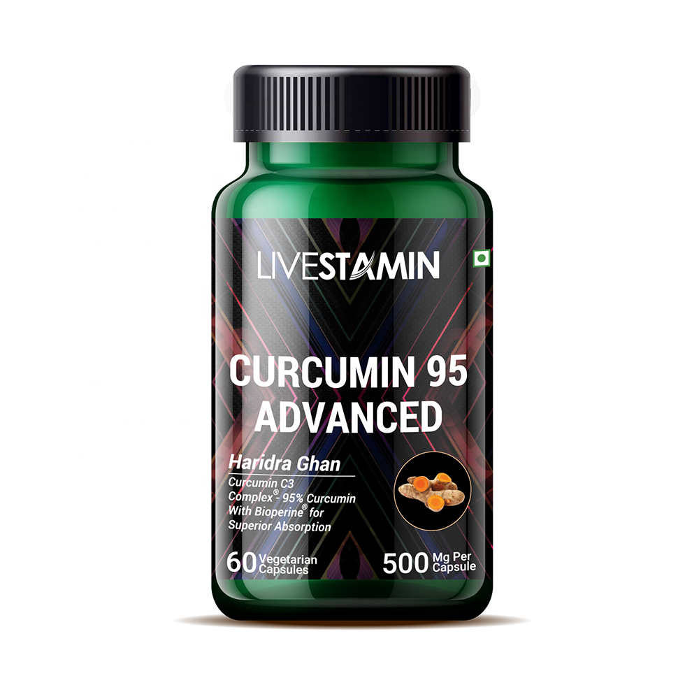 Supliment alimentar extract 95 Curcumin & BioPerine 60 capsule vegetale