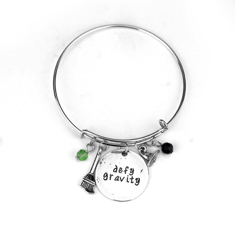 Wicked the Musical Inspired Logo Bracelet