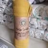 Yellow swaddle blanket