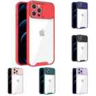 Gemfits New Arrival Shockproof Camshield Case Camera slide door protect phone case Mobile Accessories Phone Case