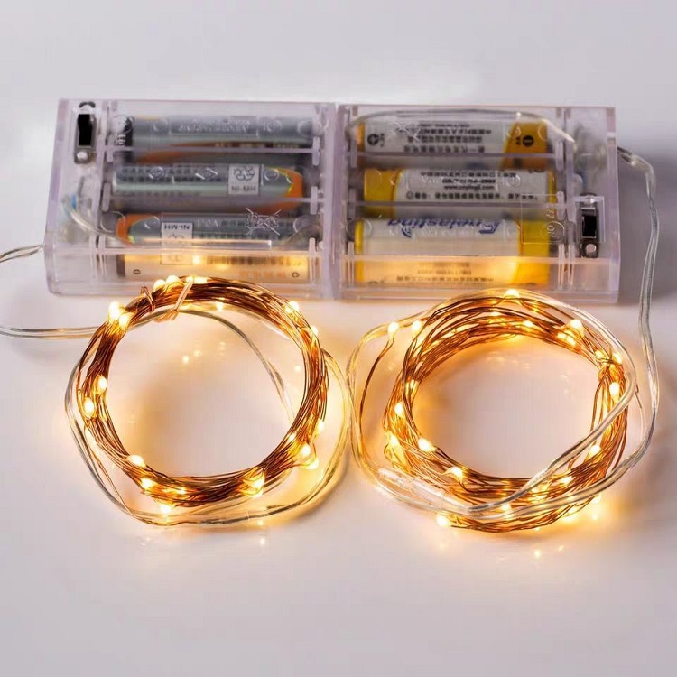 3M 30 LED copper wire led string holiday light for thanksgiving days