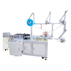 Auto Ear Mask Making Machine Semi Auto Flat 3 Or 4 Layers Disposable Medical Mask Ear Loop Body Making Machine Production Manufacturer