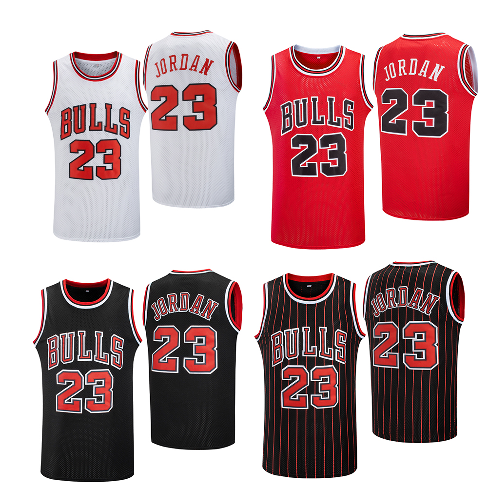 Bulls #23 Stitched Basketball Clothes Cheap High Quality Stitched ...