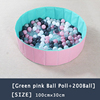 13-Green Pink Ball Pool+200 Ball