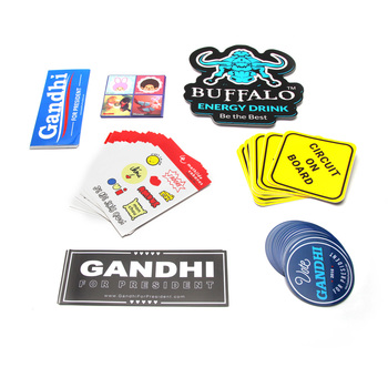 UV-Resistant Waterproof Adhesive Die Cut Custom Vinyl Stickers