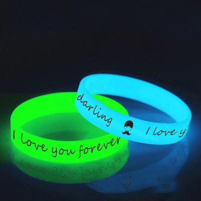Customized logo stay safe wristband eco-friendly rubber machine silicon bracelets