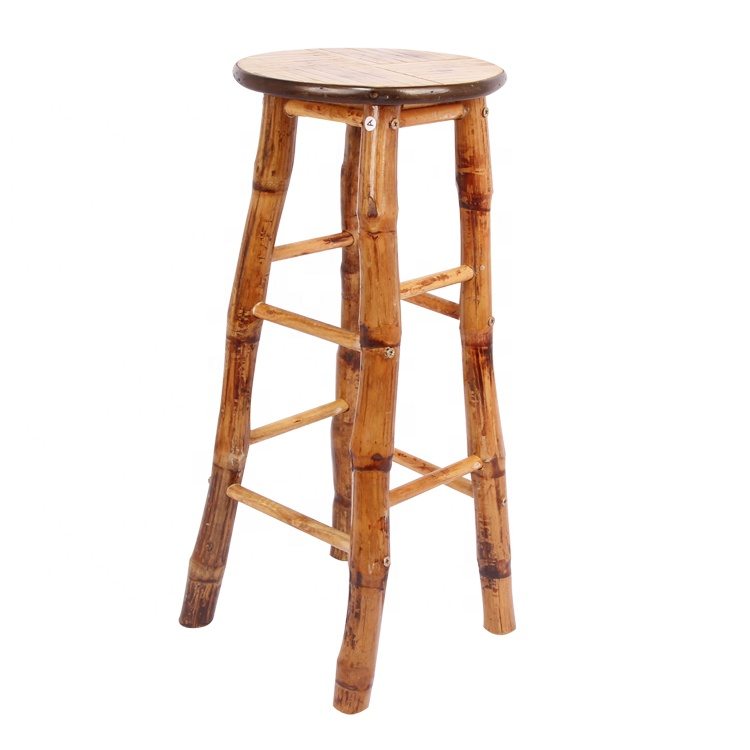 Бамбуковый барный стул, стул для ресторана, бамбуковые обеденные столы и бамбуковые обеденные стулья