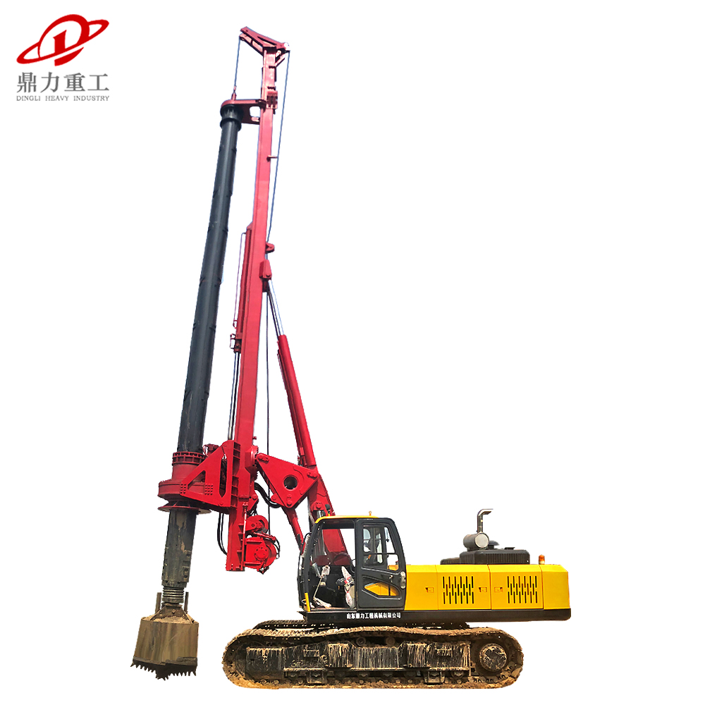 crawler pile driver rotary bored pile drilling rig
