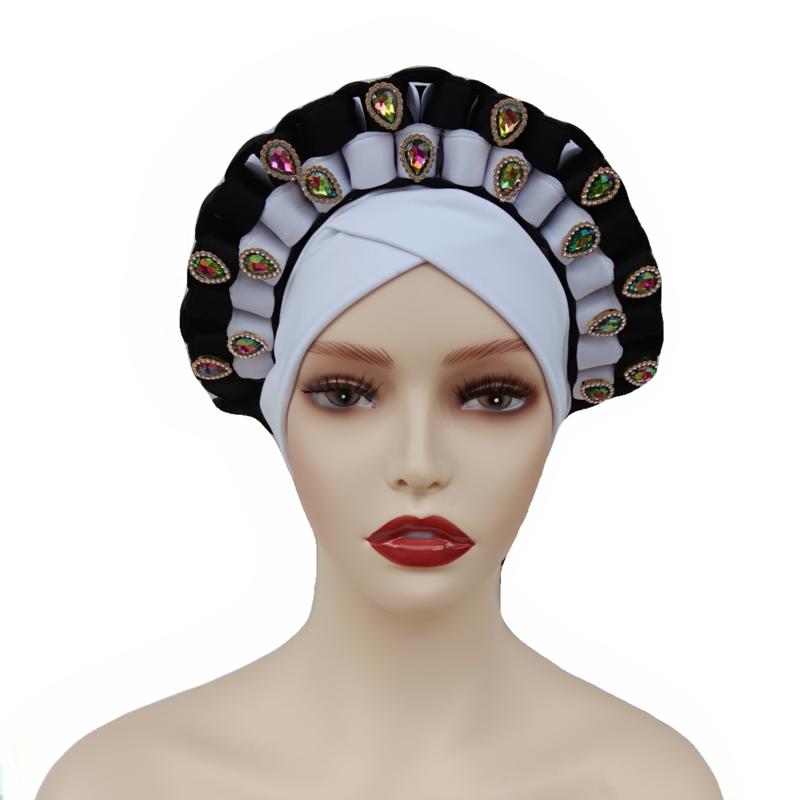 Best Price multicolor flower Prints Style Women Muslim hat