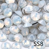 SS8-White Opale Con Strass