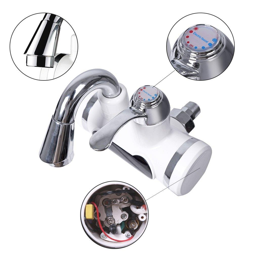 Kitchen instant heating dispenser electric hot water heater faucet