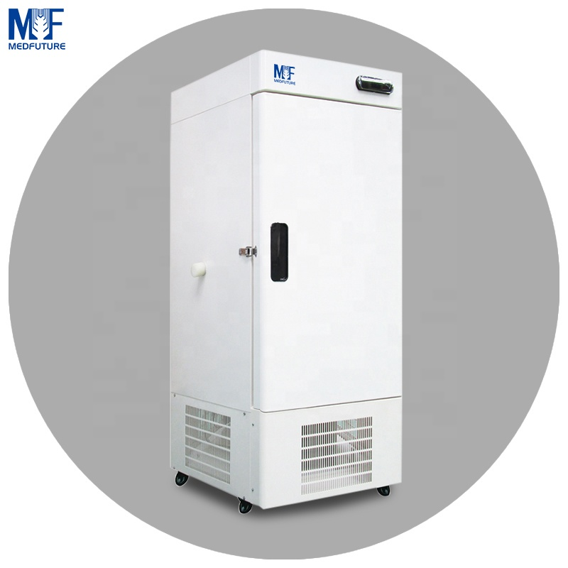 MedFuture commercial upright freezer for laboratory 158/338/408l ultra low temperature vertical deep freezer