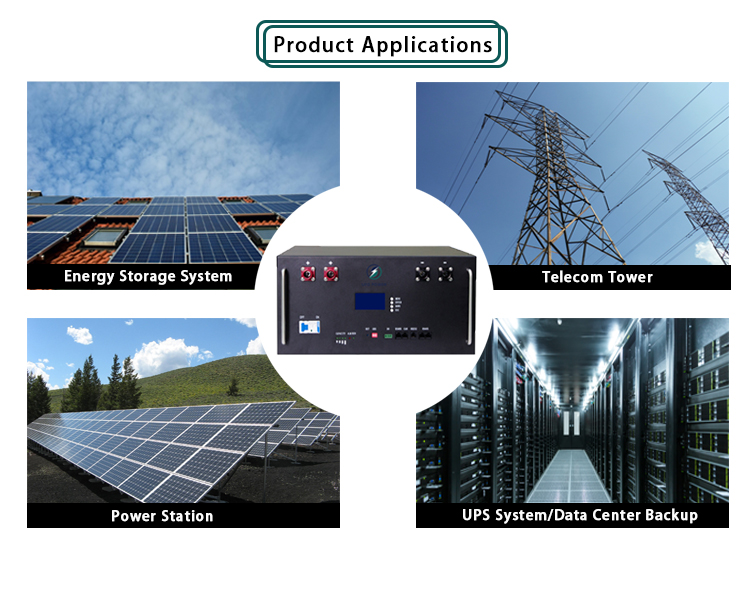 Newest design top quality uninterruptible power supplies lithium ion charger module battery for solar energy storage