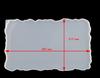 Rechteck tablett form