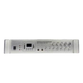Hot Selling Public Address System 5 Zone PA Mixer USB BT 150W Amplifier