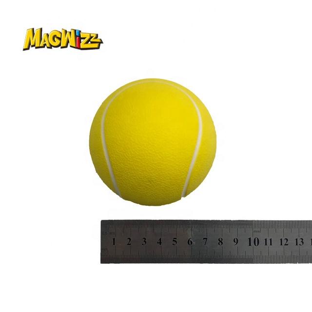 Теннисные мячи с низким уровнем прыжков, мячи для снятия стресса из полиуретановой пены, мягкий на ощупь, теннисные мячи