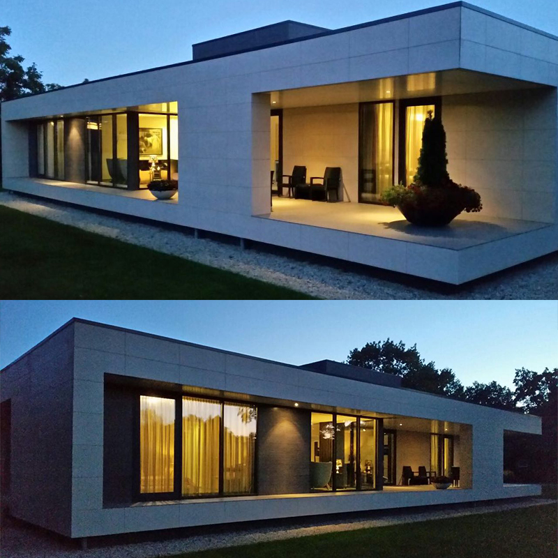 Quacent DIY Quick Installation Modern Structural Design Insulated Seismic Resistance Two-story Holiday ECO Prefabricated House