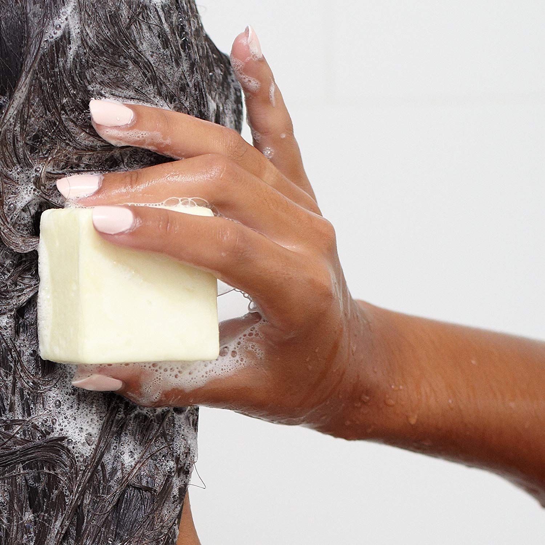 Organic Conditioning Soap Solid Shampoo Bar 100% Natural Vegan Friendly Eco-Friendly