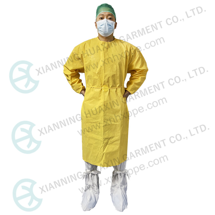TYPE3B 4B CE Certificated Disposable Apron Isolation Gown - KingCare | KingCare.net