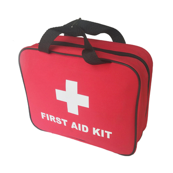 Custom logo outdoor travel car first aid kit with supplies for home emergency