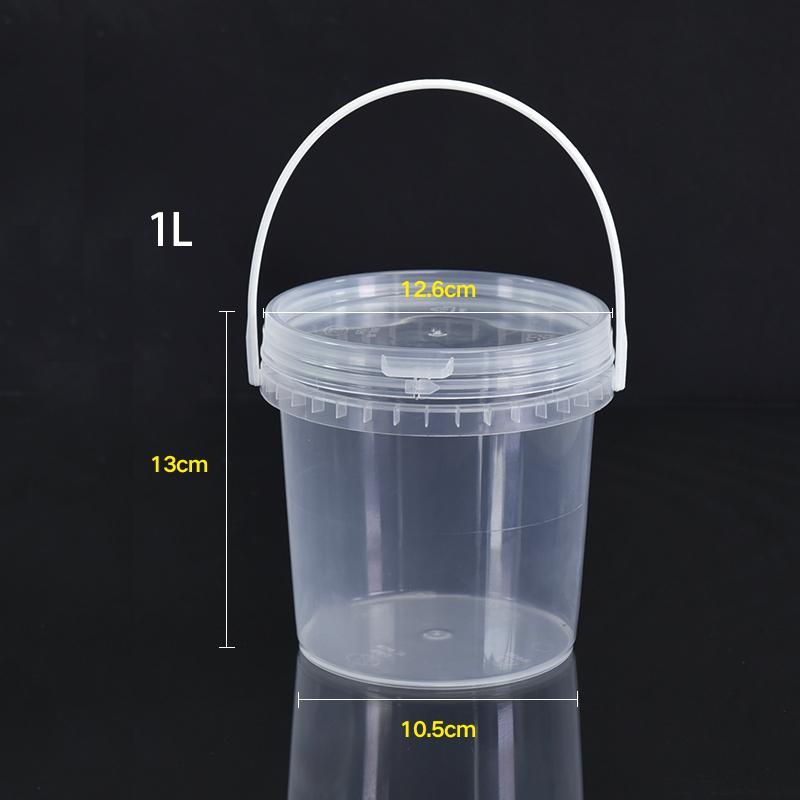 1L контейнер коробка горшок фарфоровый кувшин конфетная коробка машины краски канистров инструмент запечатывания слизь грязи яркая глина для лепки организатор мешок
