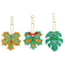 Брелок для ключей HUACAN, алмазная живопись, специальная форма, алмазная вышивка, сумка для ключей, мозаика, аксессуары в подарок(Китай)