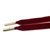 #1623-2 цвет красного вина золотыми наконечниками
