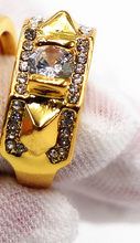 Новые винтажные кольца с кристаллами для женщин, парные обручальные кольца, мужские персонализированные ювелирные изделия, кольца для женщ...(Китай)