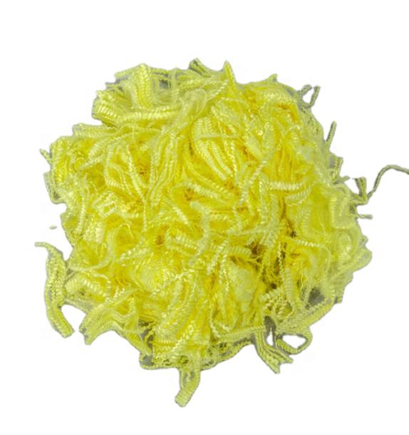 RUNHUNT yellow Single Fiber 1.5/2.3D Regular Length 38/51/76mm Aramid Staple Fiber VS 213