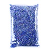 Dark blue resin rhinestone