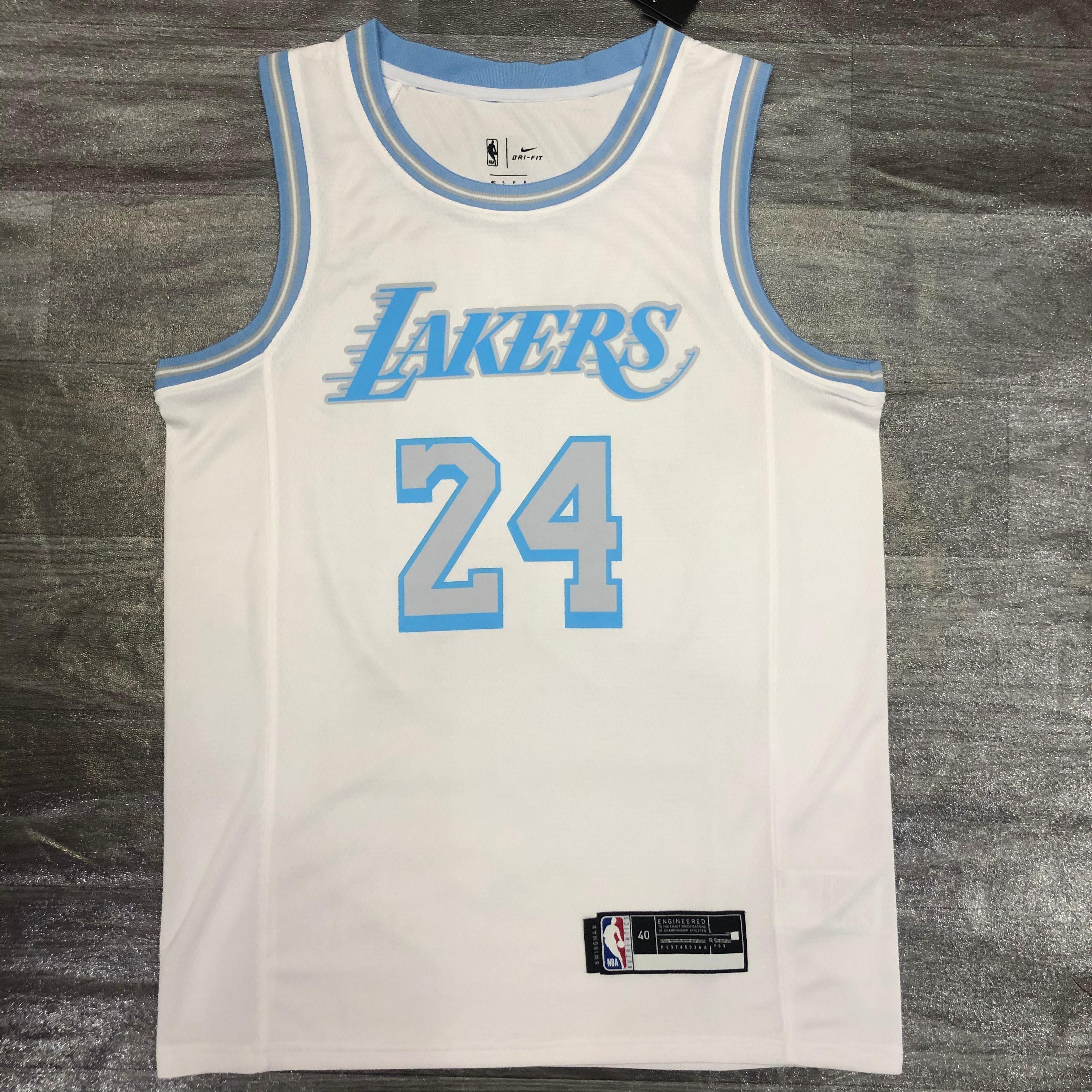 2021 Original Quality White Laker S Basketball Jersey King James ...