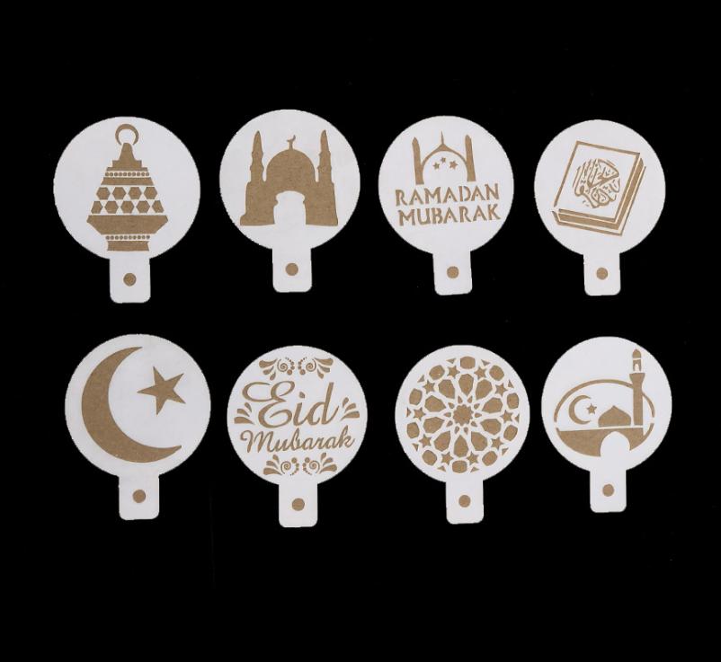 Ramadan Eid Mubarak Muslim Stencil Fondant Embosser Plastic Embosser Stamp Cookie Cutter Cake Mold Cake Tools Buy Mubarak Stencil Muslim Stamp Ramadan Cookie Cutter Product On Alibaba Com