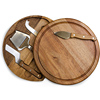 Round cheese board 3