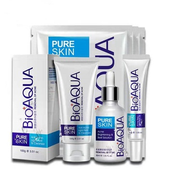 BIOAQUA Private label Skin care Acne Treatment Anti Acne Shrink Pores Whitening facial mask acne cream