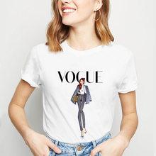 Модная стильная женская футболка с принтом; Женская одежда с короткими рукавами; Летняя футболка; Одежда для женщин; Мягкая эстетичная Одеж...(China)