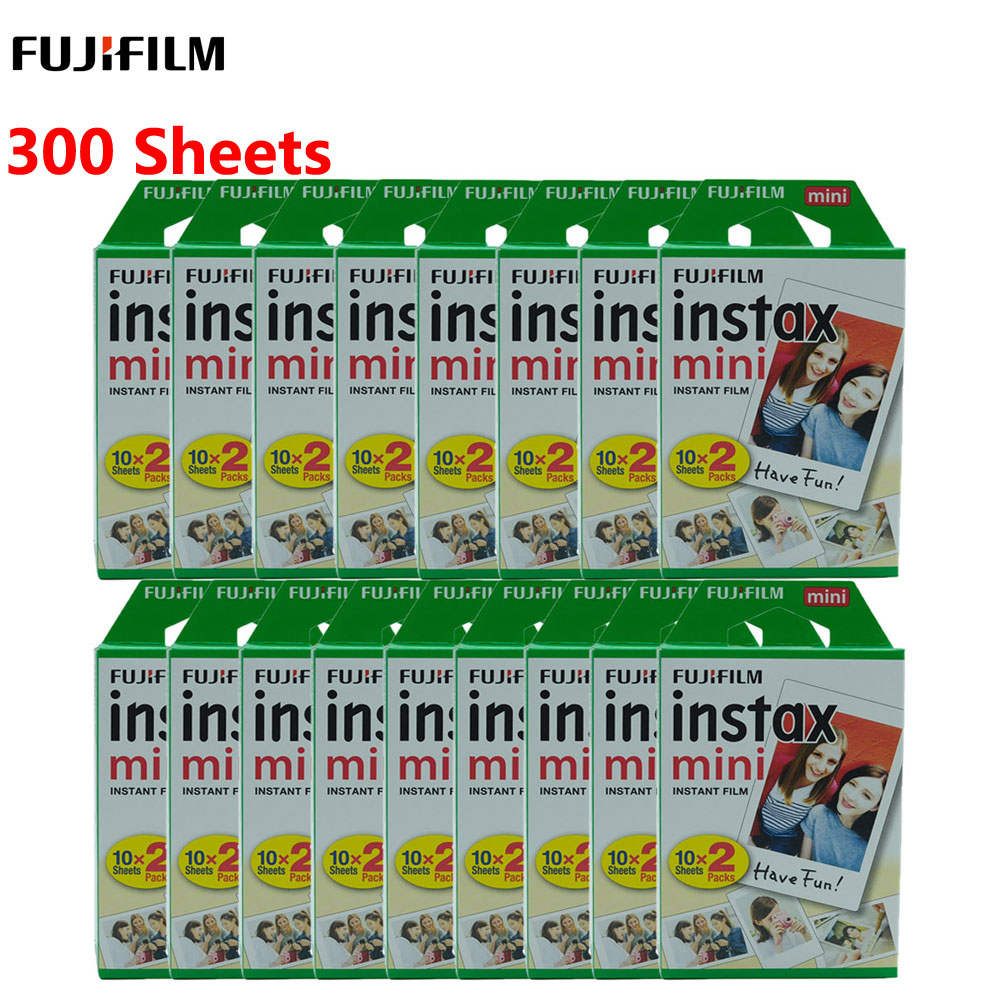 10-300 листов fuji пленка Instax Mini белая пленка мгновенная фотобумага для fuji Instax Mini 8 9 7s 9 70 25 50s 90 камера SP-1 2(Китай)