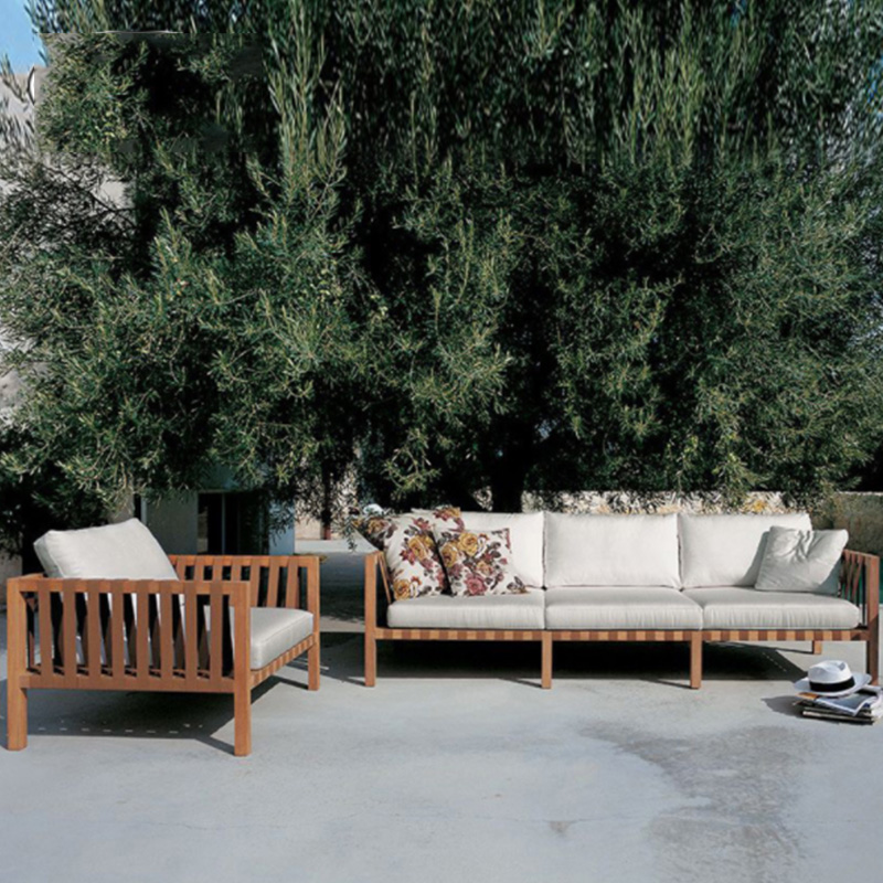 Уличная мебель в классическом стиле, набор диванов из ротанга, два набора, можно настраивать, набор диванов из ротанга