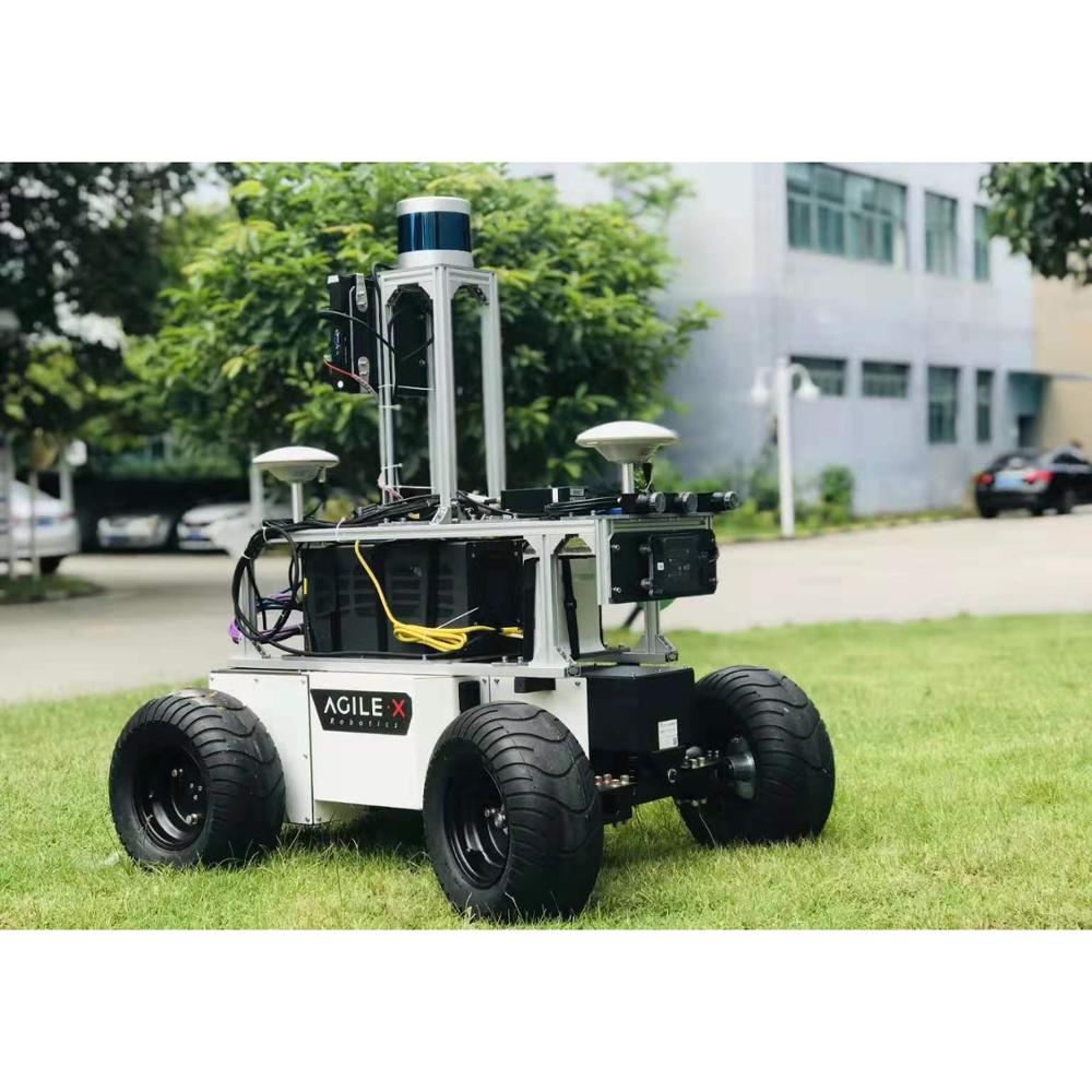 Fully Autonomous Intelligent Security Robots Patrolling Building Perimeter with Live Feed Video With Security Camera