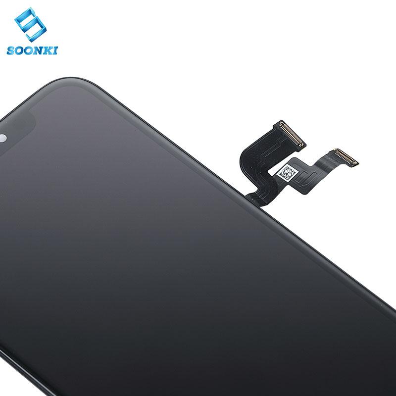 Бесплатный образец для iphone X экран дисплей для iphone x дигитайзер lcd сборка для iphone x 10 экран oled