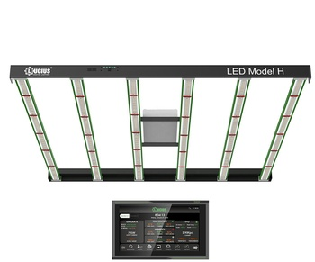 Medical Plants Commercial Industry GrowthLucius 6 bars LED Grow Light With Meanwell Driver