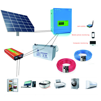 other+ solar+energy +related+products China Solar energy Systems Home with 96v/50a Solar Controller 5000w Inverter