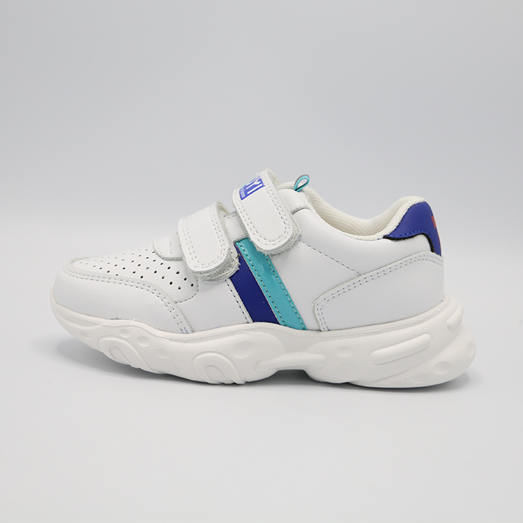 High Quality Popular White Sporty Unisex Soft And Easy Wear Anti-slippery For kids sneakers