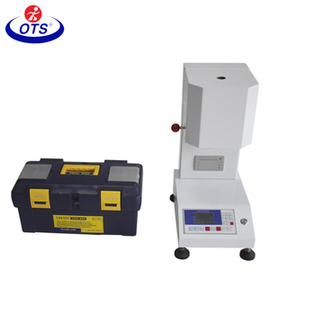 Melting Point Apparatus, Used Melt Flow Index, Melt Flow Rate Tester for Plastic